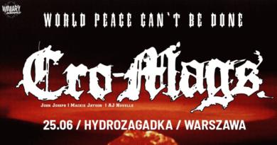 Cro-Mags w Polsce 2018 Thrash Metal/Crossover/Hardcore Punk