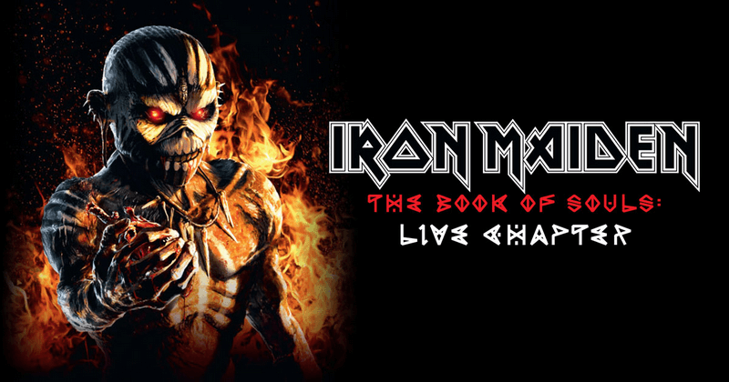 Iron Maiden – The Book of Souls: Live Chapter recenzja