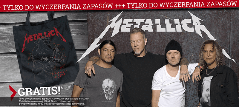 Torba Metallica gratis za zakupy.