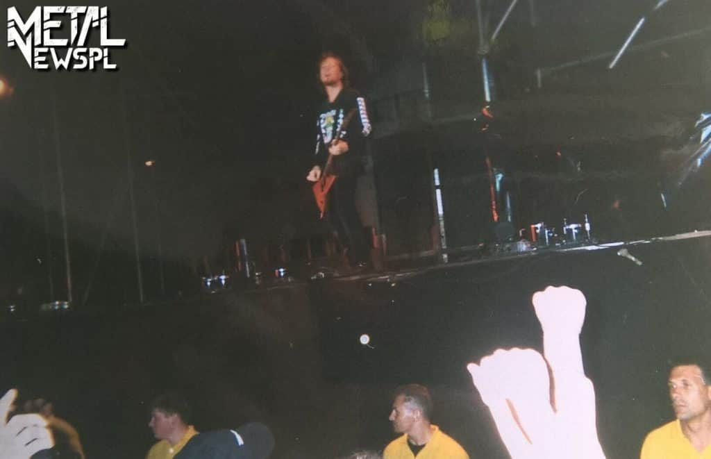 Metallica -Warszawa, 1999 rok