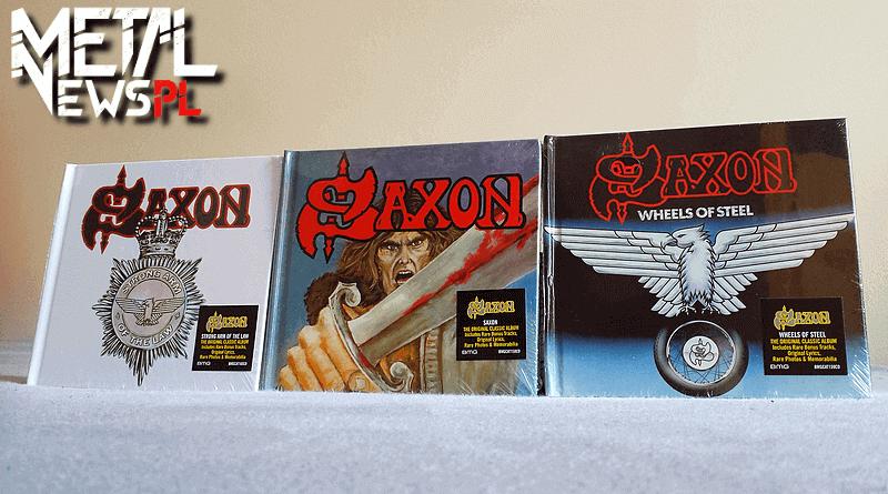 Reedycje pierwszych trzech płyt Saxon - konkurs 2018